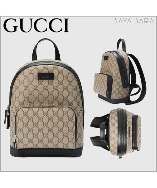 outlet store 4c0a2 68eff GUCCI(グッチ)の「GUCCI GGスプリーム キャンバス スモール ...