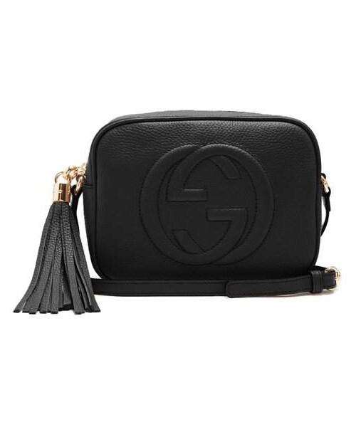 287af28ac96cc9 Gucci,Gucci - Soho Gg Small Leather Cross Body Bag - Womens - Black ...