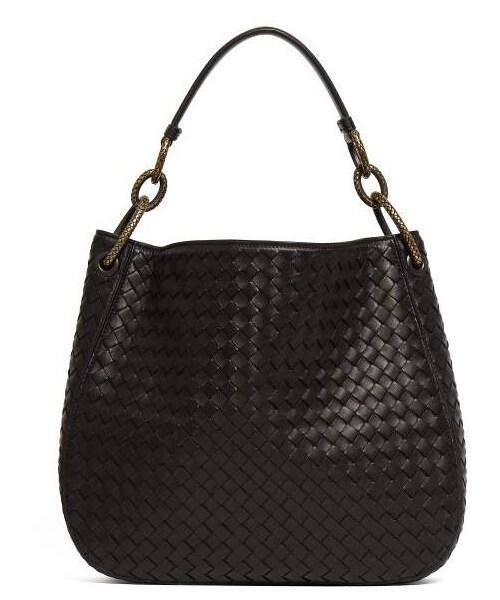 Bottega Veneta(ボッテガヴェネタ)の「Bottega Veneta - Intrecciato Medium Leather Tote  - Womens - Black(トートバッグ)」 - WEAR 7036f0a3e4