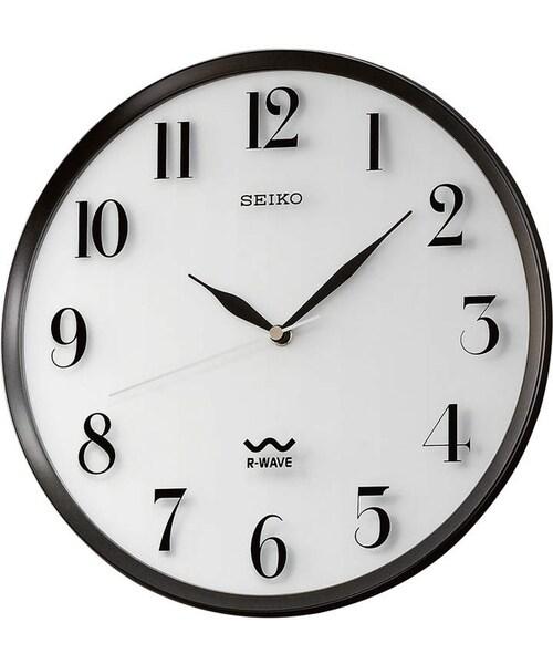 seiko セイコー の seiko r wave atomic wall clock 時計 wear
