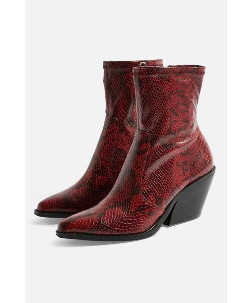 official images no sale tax new concept Topshop(トップショップ)の「Topshop HARPER High Ankle Boots ...