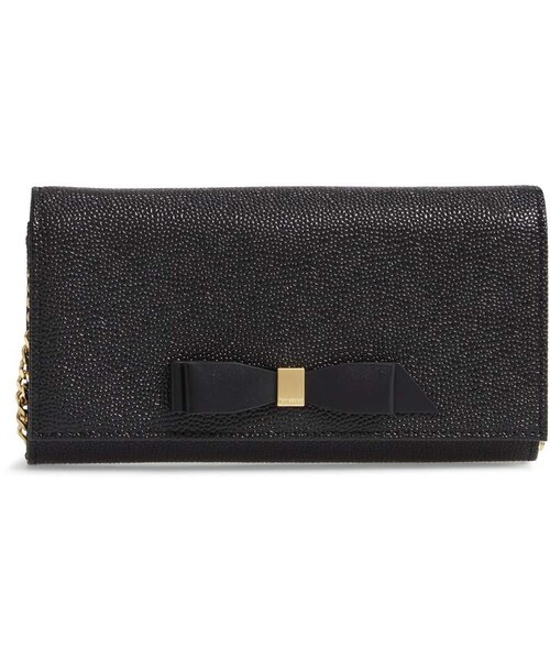 830b48120 Ted Baker,Ted Baker London Alaine Crossbody Leather Matinee Wallet on a  Chain - WEAR