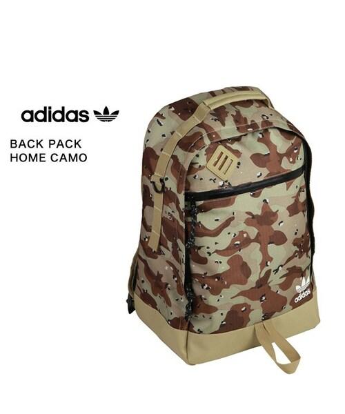 adidas(アディダス)の「adidas Originals BACK PACK HOME CAMO CLEAR SAND(その他)」 - WEAR 1eddb800f0cdd