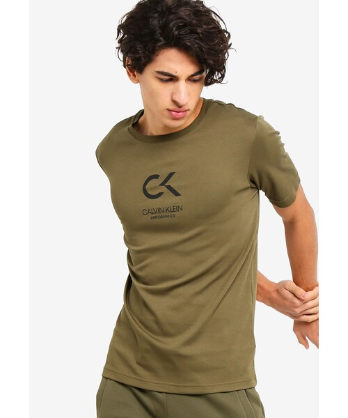 6eaf07ce4b83d 「CK Performance Icon Short Sleeves Tee - Calvin Klein Performance」