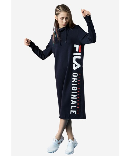 c673011db545 FILA(フィラ)の「Originale Hooded dress(その他)」 - WEAR