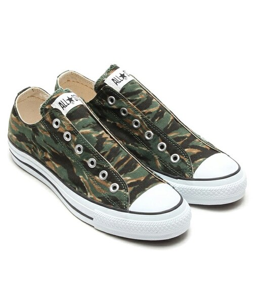 6b1227a3763f CONVERSE(コンバース)の「CONVERSE ALL STAR SLIP III OX TIGER CAMO ...