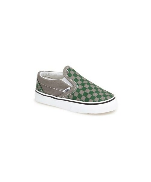 acb29c8d02 Vans(バンズ)の「Vans  Classic  Checkerboard Slip-On (Baby