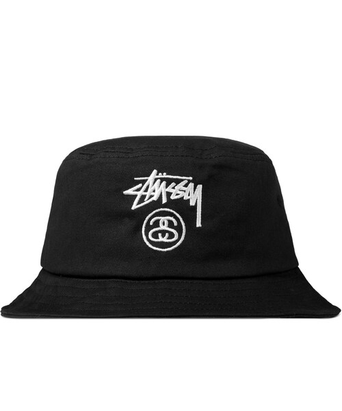 db37e503599 Stussy(ステューシー)の「Black Stock Lock FA14 Bucket Hat(アクセサリー)」 - WEAR