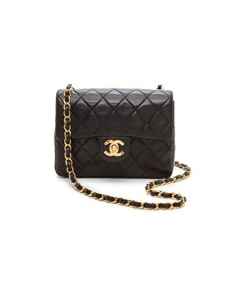 6b388b04133dd5 「What Goes Around Comes Around Chanel Half Flap Mini Bag」