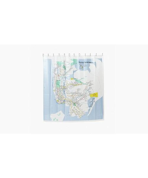 MTA NYC Subway Map Shower Curtain