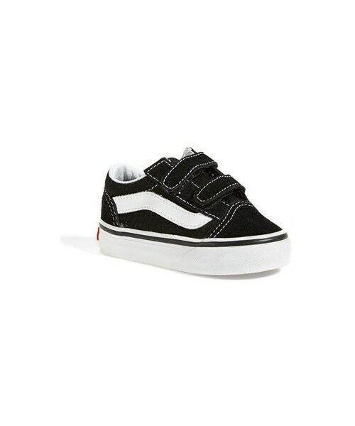 Baby & Toddler Clothing Vans Kids Old Skool V Toddler Sneakers Clothing, Shoes & Accessories