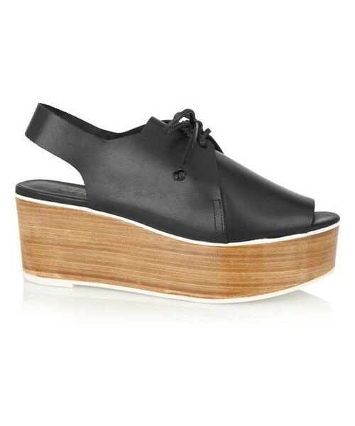 dc40e2c68e7d Tibi(ティビ)の「Tibi Malone leather platform sandals(その他 ...