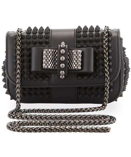 9ab13b9032 「Christian Louboutin Sweet Charity Small Spiked Crossbody Bag