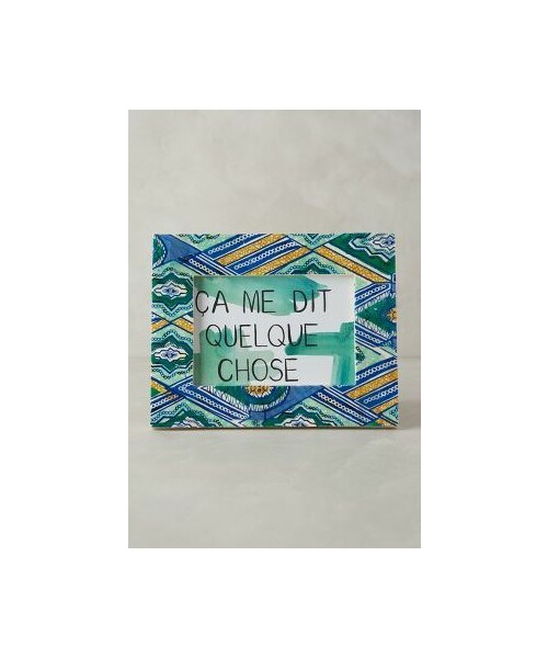 anthropologie アンソロポロジー の anthropologie wax print frame