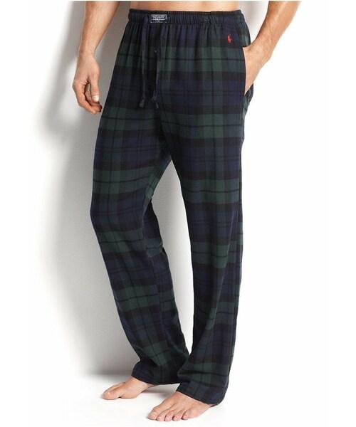 Flannel Sleep Men Pajama Bottoms Ralph Pants Polo Lauren Mens rtQdCxsBho