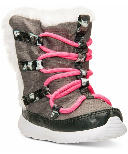 sale retailer 4cf2a f196d 「Nike Toddler Girls  Roshe Run Hi Sneakerboots from Finish Line」