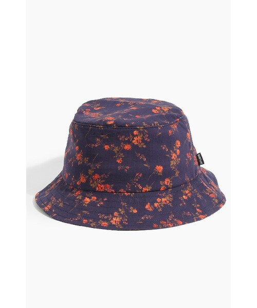 28fe847524b0f THE QUIET LIFE(クワイエットライフ)の「Liberty Rose Bucket Navy All Over(帽子)」 - WEAR