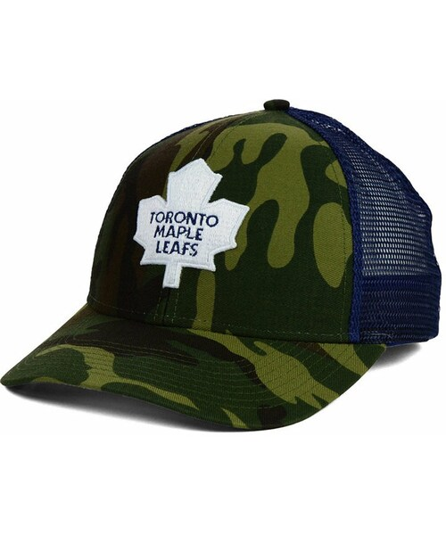 b3df2f7827e Reebok(リーボック)の「Reebok Toronto Maple Leafs Camo Trucker Cap ...
