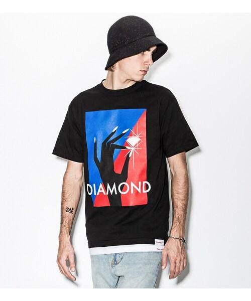 Diamond Supply Co.の「Black Pinch T-Shirt(その他)」 - WEAR 3774b55f80d