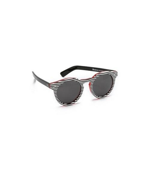 ee04dd10e030 Illesteva(イレステーバ)の「Illesteva Leonard II Stripes Sunglasses ...