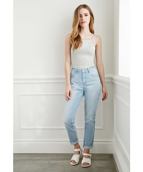 4aded3ffe7 Forever 21,FOREVER 21 Mom Fit Jeans - WEAR
