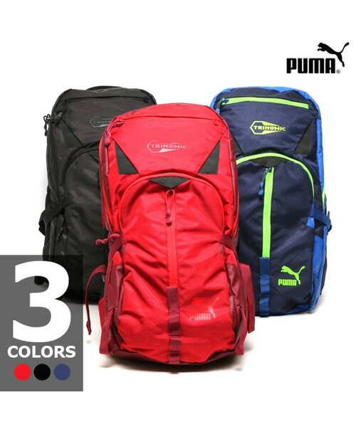 9cdfa66bd0 PUMA(プーマ)の「PUMA TRINOMIC BACKPACK(バッグ)」 - WEAR