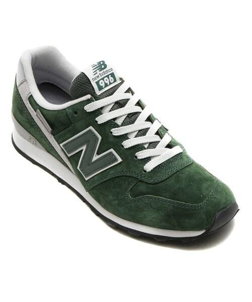 best sneakers 82852 f4c4e New Balance(ニューバランス)の「New Balance WR996 LC GREEN ...