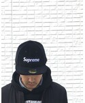 Supreme × NewEra | (キャップ)