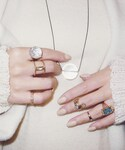 mother | mother x JUNCOparis SNOW DOME RING (SILVER)(リング)