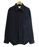 house of the very island's CLASSIC CUT SHIRT DARKBLUE(シャツ・ブラウス)