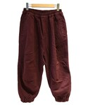 ANNTIAN SHAPED PANTS GARMENT DYE BROWN(パンツ)