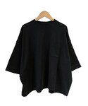 tim. wide tee BLACK(Tシャツ・カットソー)