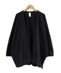 O project SWEAT CARDIGAN BLACK(カーディガン)