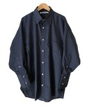 tim. regular collar shirt NAVY(シャツ・ブラウス)