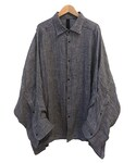 SHINYA KOZUKA FAT SHIRT HOUND TOOTH(シャツ・ブラウス)