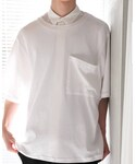 SISE | BIG POCKET T-shirt(Tシャツ・カットソー)