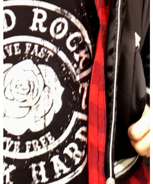 Hard Rock Cafe(ハードロックカフェ)の「Rose Embellished Tank Top(タンクトップ)」