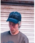 Hard Rock Cafe | Washed black cap(キャップ)