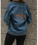 Hard Rock Cafe | Anti Denim Jacket (デニムジャケット)