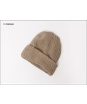 COLUMBIAKNIT | SOLID COTTON KNIT CAP(ニットキャップ・ビーニー)