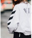 off white | (Sweatshirt)