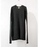 SISTERE | HOLD UP LONG SLEEVE SWEAT  [BLACK](スウェット)