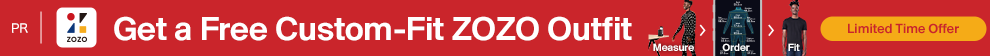 Get a Free Custom-Fit ZOZO Outfit.
