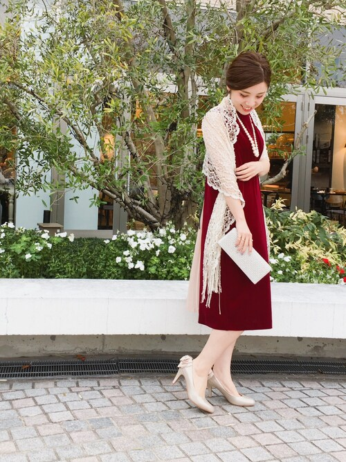 結婚式 服装 冬