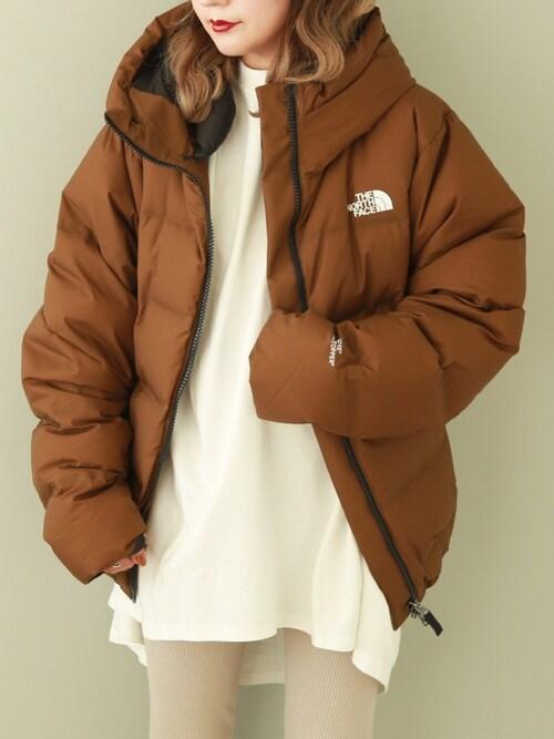 shino ̈* ︎|THE NORTH FACEのダウンジャケット/コートを使った ...
