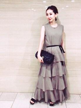 15308ca5b17ab ドレスを使った「ベージュワンピ」のコーディネート一覧 - WEAR