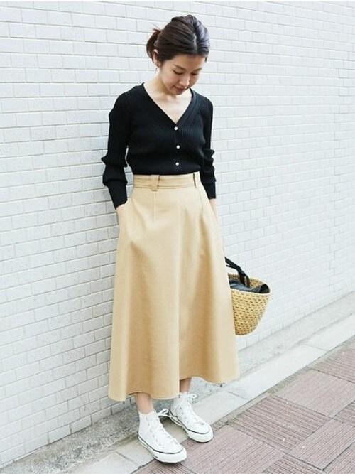 IENA 本社Suzyさんのスカート「TAボンディングスカート◆(IENA|イエナ)」を使ったコーディネート