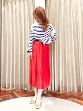nariさんの「BY MALENE BIRGER SKIRT(BY MALENE BIRGER)」を使ったコーディネート