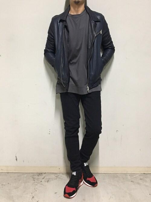 B'2nd 札幌B'2nd札幌 スタッフさんのTシャツ/カットソー「MINOTAUR(ミノトール)EXTRA FINE L/S T/ロングスリーブ/カットソー(MINOTAUR|ミノトール)」を使ったコーディネート