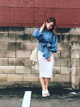 Rina Chishimaさんの(EMODA|エモダ)を使ったコーディネート